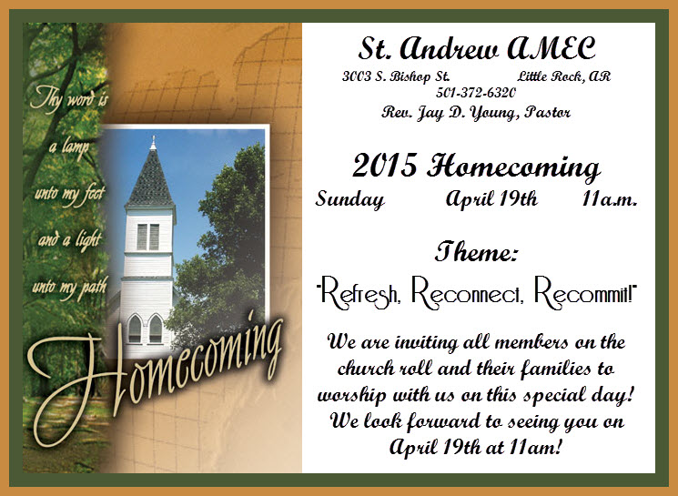 2015 homecoming service st andrew amec 2015 homecoming altavistaventures Images